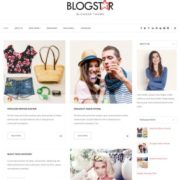 Blog star Blogger Templates