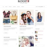 Blog star Blogger Template