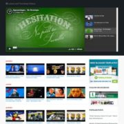 BlogTube Professional Video Blogger Templates