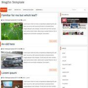 BlogZin Responsive Blogger Templates