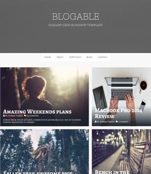 Blogable Blogger Templates