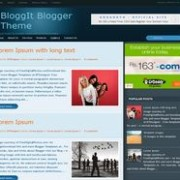 BloggIt blogger template