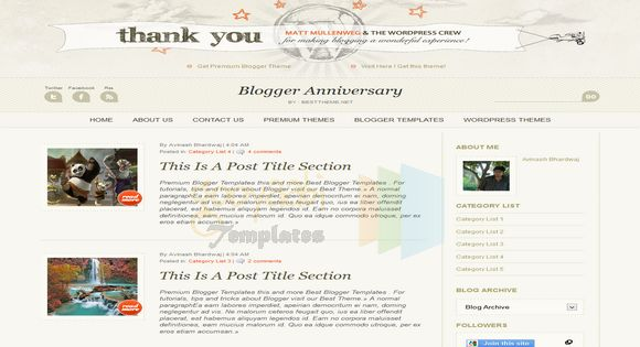 Blogger Anniversary Blogger Template. Free Blogger templates. Blog templates. Template blogger, professional blogger templates free. blogspot themes, blog templates. Template blogger. blogspot templates 2013. template blogger 2013, templates para blogger, soccer blogger, blog templates blogger, blogger news templates. templates para blogspot. Templates free blogger blog templates. Download 1 column, 2 column. 2 columns, 3 column, 3 columns blog templates. Free Blogger templates, template blogger. 4 column templates Blog templates. Free Blogger templates free. Template blogger, blog templates. Download Ads ready, adapted from WordPress template blogger. blog templates Abstract, dark colors. Blog templates magazine, Elegant, grunge, fresh, web2.0 template blogger. Minimalist, rounded corners blog templates. Download templates Gallery, vintage, textured, vector,  Simple floral.  Free premium, clean, 3d templates.  Anime, animals download. Free Art book, cars, cartoons, city, computers. Free Download Culture desktop family fantasy fashion templates download blog templates. Food and drink, games, gadgets, geometric blog templates. Girls, home internet health love music movies kids blog templates. Blogger download blog templates Interior, nature, neutral. Free News online store online shopping online shopping store. Free Blogger templates free template blogger, blog templates. Free download People personal, personal pages template blogger. Software space science video unique business templates download template blogger. Education entertainment photography sport travel cars and motorsports. St valentine Christmas Halloween template blogger. Download Slideshow slider, tabs tapped widget ready template blogger. Email subscription widget ready social bookmark ready post thumbnails under construction custom navbar template blogger. Free download Seo ready. Free download Footer columns, 3 columns footer, 4columns footer. Download Login ready, login support template blogger. Dro