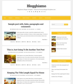 Blogghiamo Blogger Templates