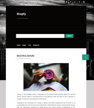 Blogify Blogger Templates