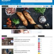 Blogius Slider Blogger Templates