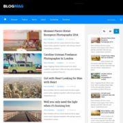 Blogmag Responsive Blogger Templates