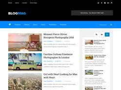 Blogmag Responsive Blogger Template