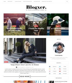 Blogxer Blogger Templates
