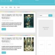 Blue Blog Blogger Templates