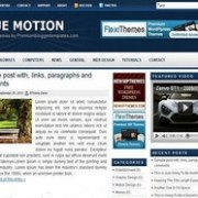 Blue-Motion-Blogger-Templat
