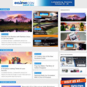 Blue Theme Blogger Templates