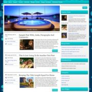 BlueHeaven Blogger Templates