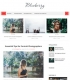 Blueberry Blogger Templates