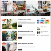 Blush Blogger Templates
