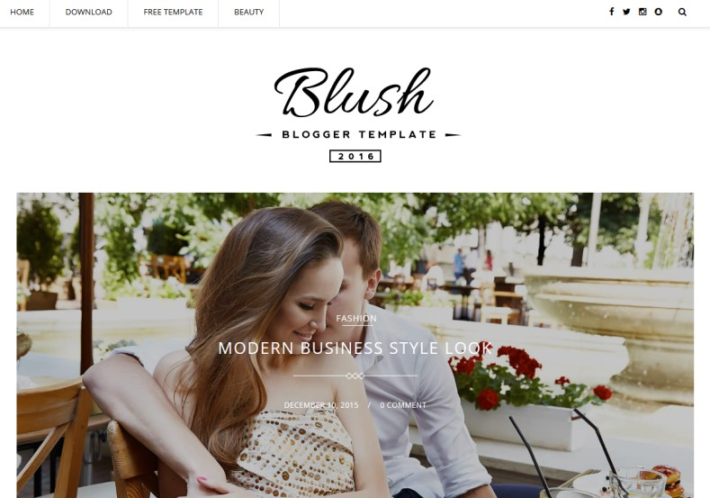 Blush Multipurpose Blogger Template is best quality multipurpose blogger template for any type of blogger blog. Download multipurpose Blush Multipurpose Blogger Template for free.