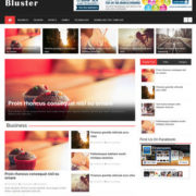 Bluster Responsive Blogger Templates