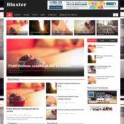 Bluster Responsive Blogger Templates