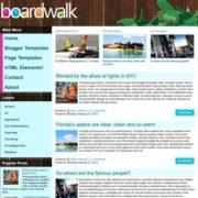 Boardwalk Blogger Templates