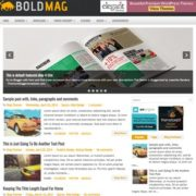 BoldMag Blogger Templates