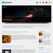 Boldy Blogger Templates