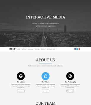 Bolt Blogger Templates