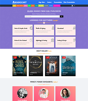 BooksCart Blogger Templates