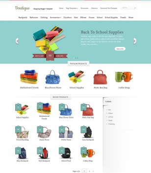 Boutique Blogger Templates