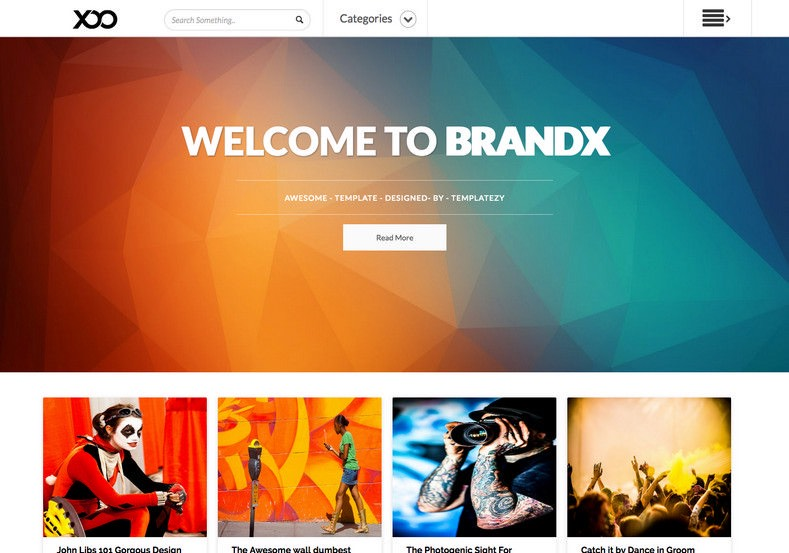 BrandX Blogger Template. Free latest and best blogger templates download. BrandX Blogger Template