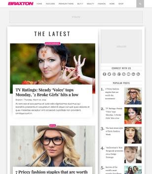 Braxton Responsive Blogger Template