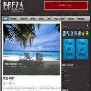 Breza Blogger Templates