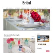 Bridal Blogger Templates