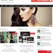 Bright Mag Responsive Blogger Templates