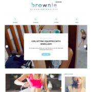 Brownie Blogger Templates