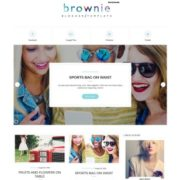 Brownie Grid Blogger Templates