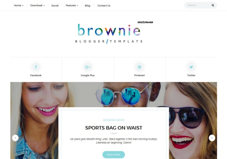 Brownie Grid Blogger Template. Best high quality free blogger templates 2017 download free blogger themes with masonry grid layout. Magazine and fashion Brownie Grid Blogger Template.