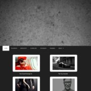 Business Portfolio Dark Static Blogger Templates