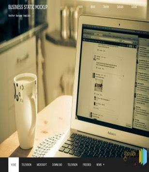 Business Portfolio Static Blogger Templates