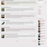 Buzz Purple Skin Blogger Templates