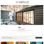 Camille Blogger Templates