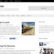 Canvas Simple Blogger Template