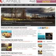 Capable Blogger Templates