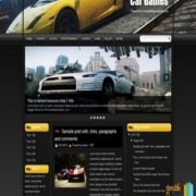 Car Games Blogger Templates