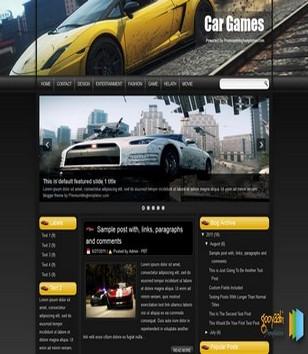 Car Games Blogger Templates