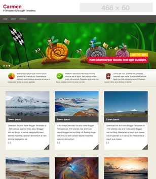 Carmen Blogger Templates