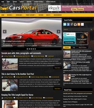 CarsPortal Blogger Templates