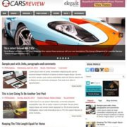 CarsReview Blogger Templates