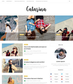 Catarina Blogger Templates