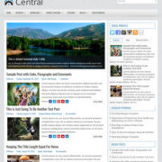 Central Blog Blogger Templates