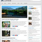 Central Blog Blogger Templates